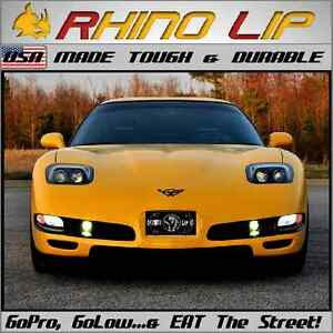Universal Corvette Flexible Fit Rubber Lotus Type Chin Lip Spoiler Splitter Trim
