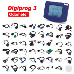 Digiprog3 V4 94 Odometer Master Progarm Mileage Adjust Tool Entire Kit Full Set