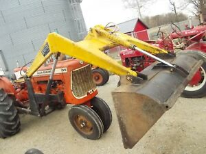 Allis Chalmers D15 Tractor Hydraulic Dump Bucket Frontend Kelley Loader
