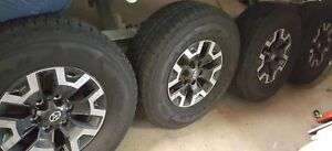 2018 Toyota Tacoma Trd Off Road 4x4 Oem Goodyear Tires 265 70 r16 And 16 Wheels