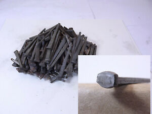 100 Old Square Head Nails 2 1 2 Rose 7 Flat Shipping All U Buy