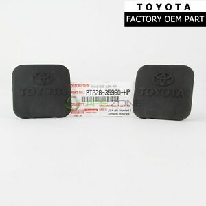 Genuine Toyota Tacoma Rav4 Tow Trailer Hitch Cover Set Of 2 Oem Pt228 35960 Hp