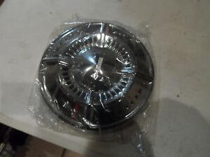 Aftermarket Repop 61 62 Chevy Impala Biscayne Chevrolet Dog Dish Hub Cap New