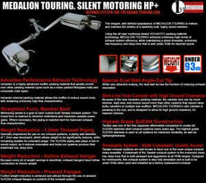 Tanabe Medalion Touring Exhaust System 14 14 Mazda 6