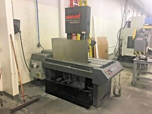 2016 Marvel Series 8 Mark Ii Vertical Band Saw Video Available