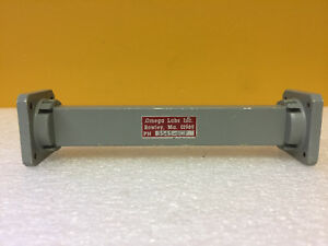 Omega Labs 3545 6cf Wr75 10 To 15 Ghz 6 L Waveguide Straight Section