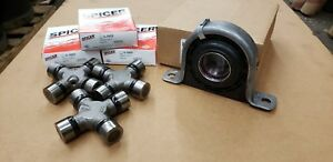 Spicer Carrier Support Bearing U Joint Replacement Kit Ford F250 F350 Usa Ship