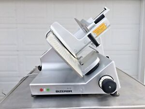 Bizerba Model Se12 Manual Gravity Feed Meat Or Cheese Slicer Works Great
