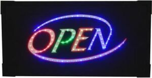 Led Open Signs ls16289 Led Open 11x21 large Led Open Sign This Sign Has 88 In