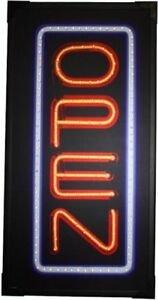 Ls16288 Led Open 25x13 large Led Open Sign This Sign Has 168 Individual Led L