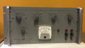 Power Designs Hv 1545 Precision High Voltage Power Supply For Parts Repair