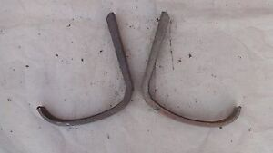 1928 1931 Model A Ford Sedan Rear Fender Braces Original Brackets Pair