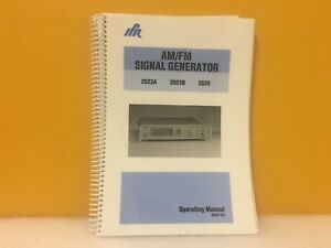 Ifr 46882 373 Am Fm Signal Generator 2023a 2023b 2025 Operating Manual