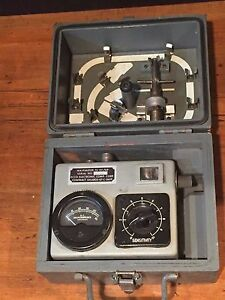 Vintage Electronic Test Equipment Ecco Wavemeter Ts 117 gp