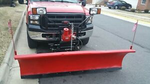 Western Snow Plow 7 6 Great Condition