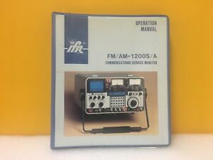 Ifr 1002 5501 000 Fm Am 1200s a Communications Service Monitor Manual