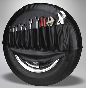 Vw Spare Tire Cover Tool Holder Organizer Black 1950 1977 Volkswagen Beetle