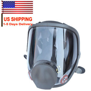 Large Size Lens Mask Dust Facepiece Respirator Painting Spraying 6800 Gas Mask