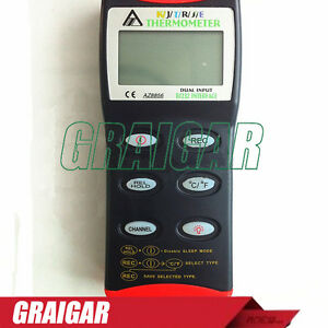 Az8856 Precision Digital Thermometer Temperature Probe Handheld Thermometer