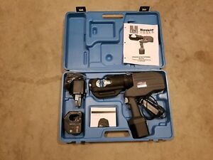 Huskie Rec 5510 Battery Powered Compression Tool 12t Robo Crimper