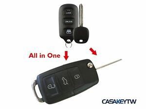 Flip Uncut Key Remote Oem Chip For 99 00 01 02 03 Toyota 4runner Remote Key Fob