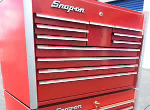Snap on Master Series 11 Drawer Tool Chest top Box Only Excellent Condition