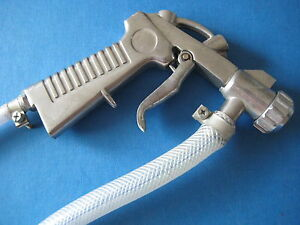 Premier Heavy Duty Sand Blasting Pistol With Hoses Cabinet Or Free Hand