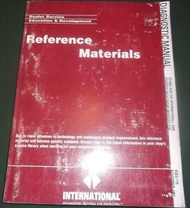 International Dt 466e 530e Engine Diagnostic Service Shop Repair Manual Eges 175