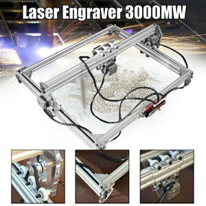50 65cm 3000mw Cnc Laser Engraving Machine 2axis Dc 12v Diy Engraver Desktop
