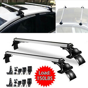 48 Car Roof Bar Crossbar Rack Cargo Luggage W Clamps 150lbs For Nissan Altima