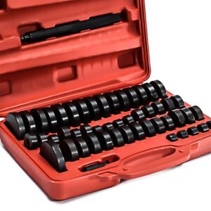 52 Piece Bushing Seal Driver Set Bearing Bush Removal Install Tool Kit Vi
