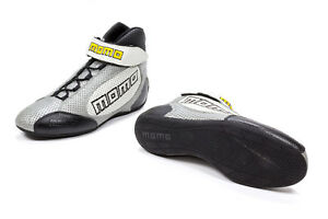 Momo Gt Pro Racing Shoes Grey 5 5 5 Calf Airleather
