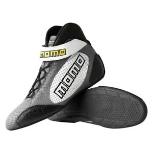 Momo Gt Pro Racing Shoes Grey 9 9 5 Calf Airleather