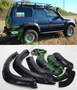 Wheel Arch Cover Trim For Toyota Land Cruiser 4500 Lc80 Fj80 Fender Flare Kit