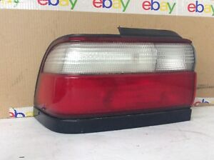 Toyota Corolla 96 97 1996 1997 Tail Light Driver Left Lh Black Trim