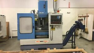 1995 Supermax Model Max 1 Rebel Cnc Vertical Machining Center fanuc 0 m