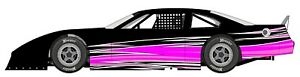 Race Car Wrap Graphics Decals Imca Late Model Street Stock Mini Dirt 102