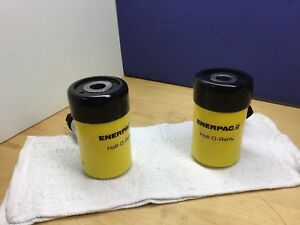 Enerpac Rch121 Hydraulic Cylinder Hollow 12 Tons 1 5 8in Stroke