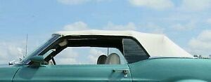 1969 1970 Ford Mustang Mercury Cougar Convertible Top And Plastic Window