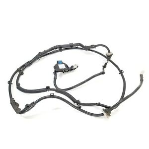 2013 09 16 Audi A4 S4 Positive Battery Protector Wire Cable Wiring Harness Oem
