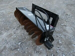 Bobcat Mt 453 S70 Skid Steer Trench Cover Up Filler Attachment Ship 199