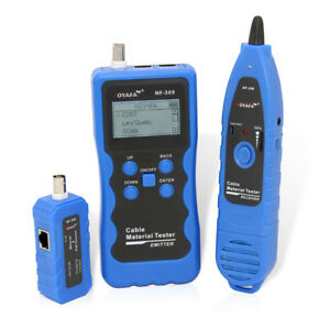 Noyafa Nf 309 Cable Tester Tracker For Cat5 Cat6 Non standard Ian Cable Trace