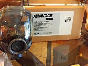 Msa Advantage 1000 Riot Control Gas Mask Small Pn 813860