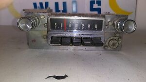 1964 1965 1966 Ford Mustang And Falcon Radio