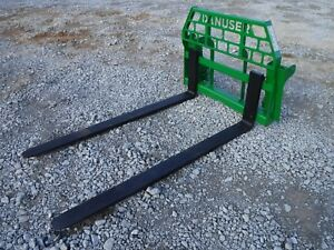 John Deere Tractor Attachment 72 Pallet Forks 600 700 Series Ship 199