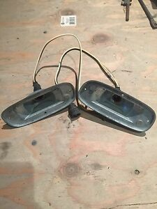 1958 1959 Chevrolet Pickup Truck Parking Light Housings Nos Made In Usa Cameo
