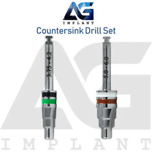 Countersink Drills Set External Irrigation Surgical Tools Dental Implant