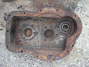 Cockshutt 30 Tractor Original Rear Transmission Housing Cover Panel