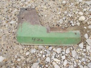 John Deere 420 Tractor Jd Engine Motor Heat Shield Cover Panel Jd kk