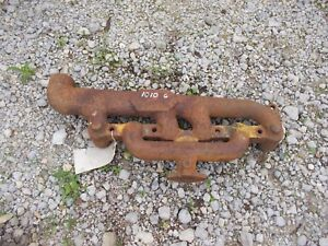 John Deere 1010 Gas Jd Tractor Aftermarket Engine Motor Exhaust Manifold